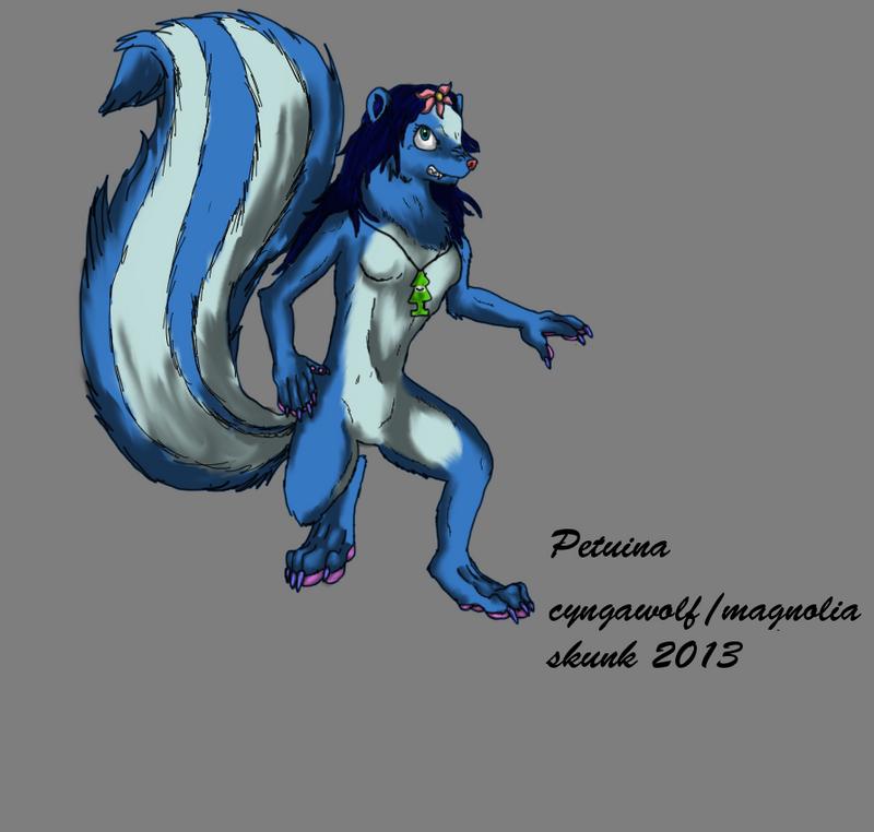Adult/Werewolf Petuina by cyngawolf