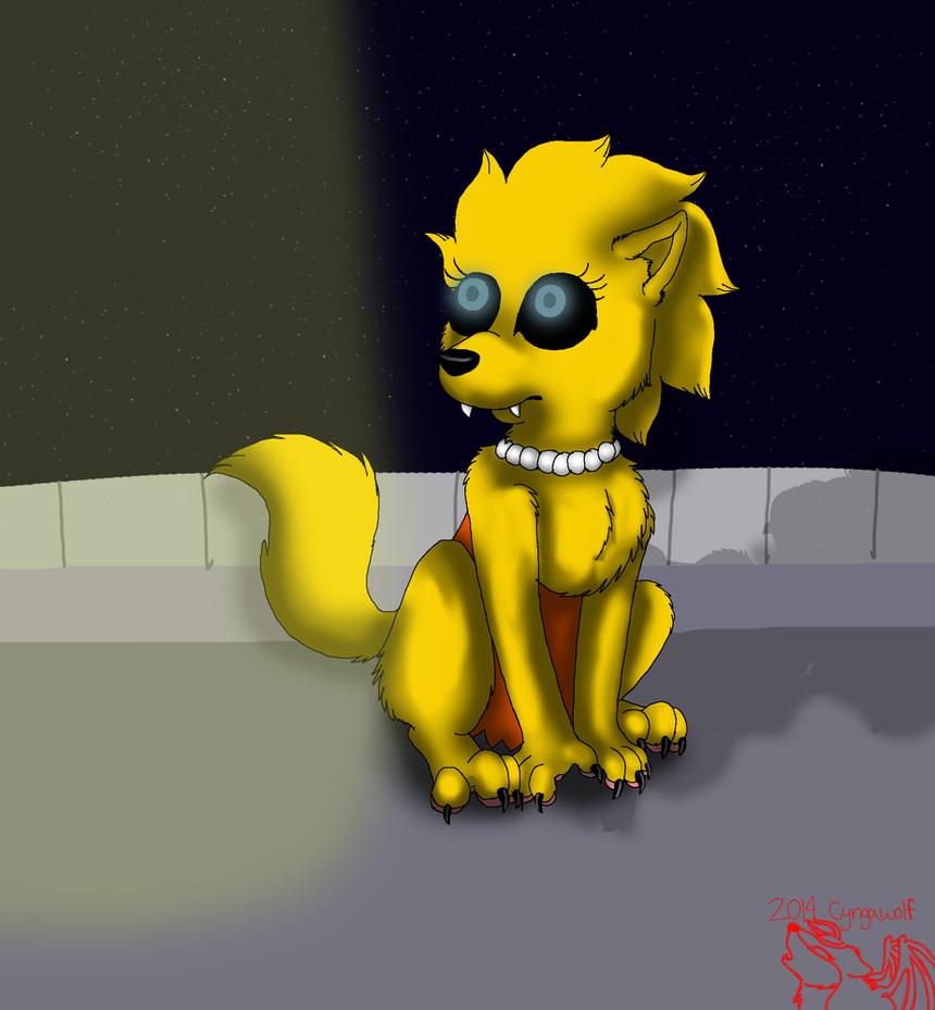 Werewolf Lisa full form by cyngawolf