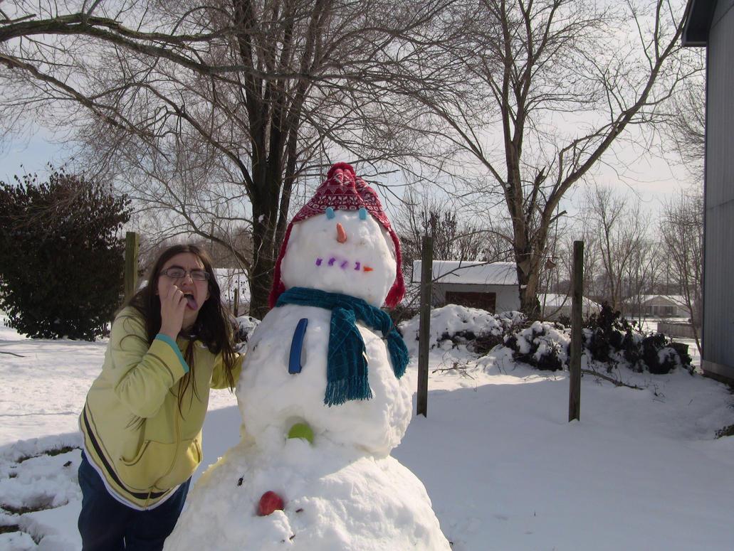 snowman II by cyngawolf