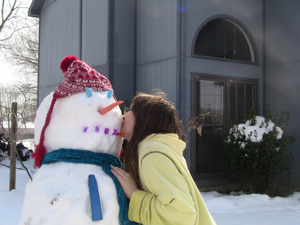 snowman III by cyngawolf