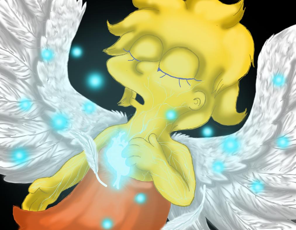 Lisa's heart by cyngawolf