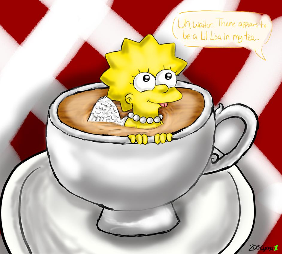 Lil Lisa In My Tea by cyngawolf