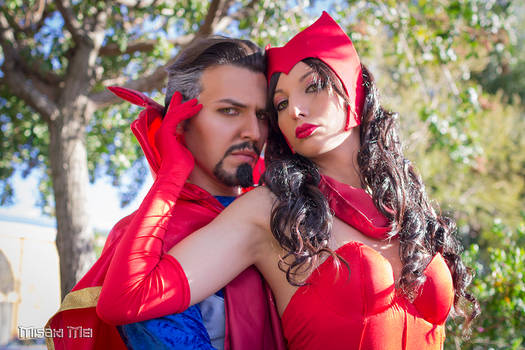 Scarlet Witch and Doctor Strange!