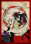 FOLKLORE ANIMAL CONTEST-Saionji Akirako's Inugami