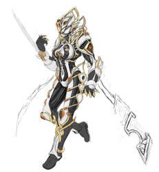 Warframe Valkyr Prime, wip