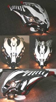 Warframe: Valkyrs Bastet helmet CP