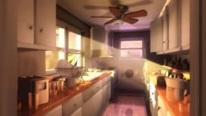 In The Kitchen by owen-c