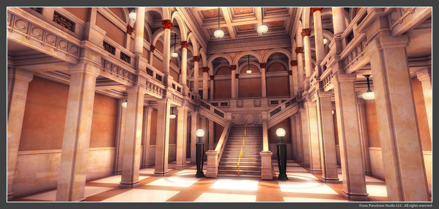 EH   Museum Interior By Owen C ...