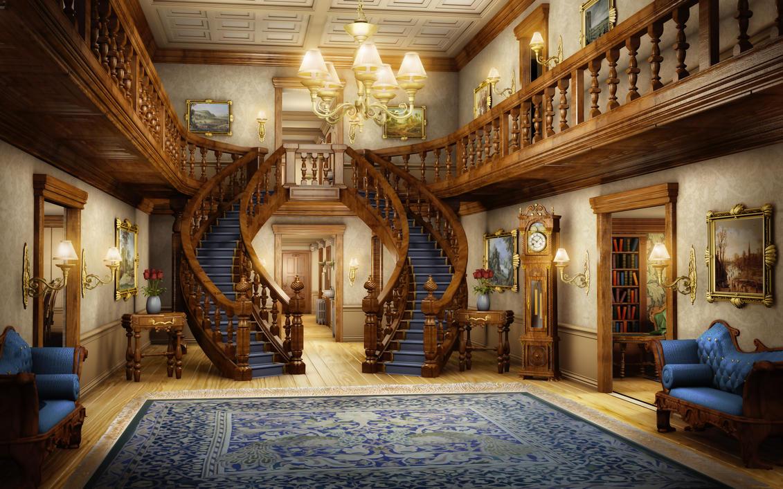 Eh foyer by owen c on deviantart for Home interior design photos hd