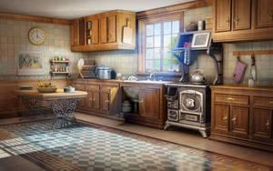 EH Kitchen by owen-c