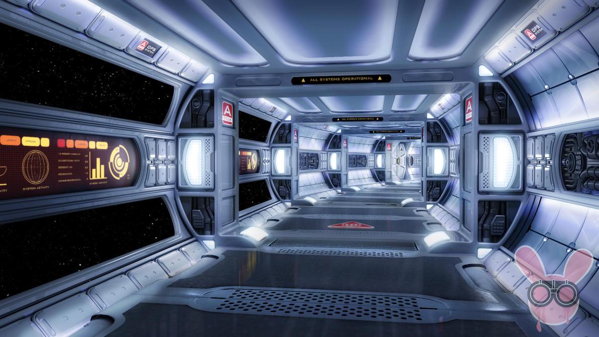 Space Corridor by owen-c