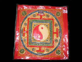 Yin  Yang Mandala by StephanEGoldenFalcon