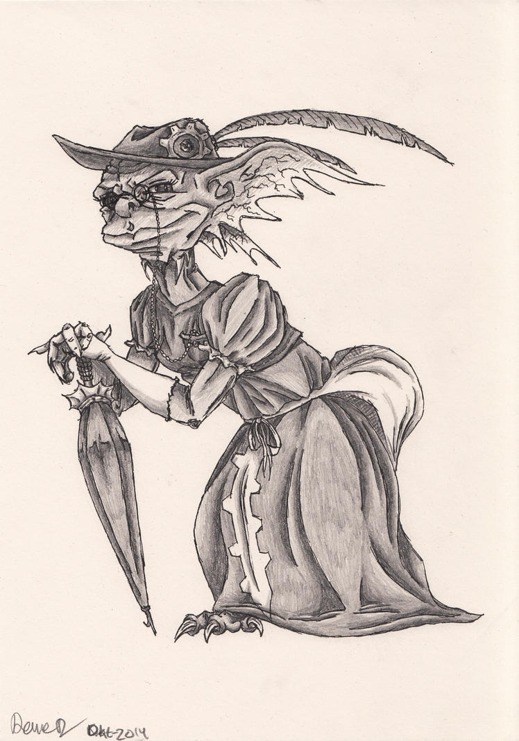 Sonya the steampunk imp by ITAFTRS