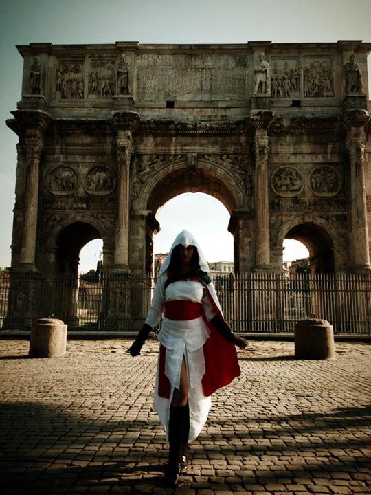 Ezio - Rome by Akuma-no-ookami