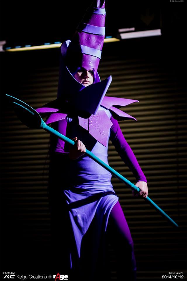 Dark Magician by Akuma-no-ookami