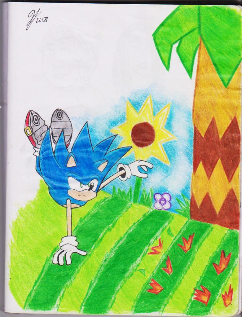 Dodging Bullets - Sonic by PandaKillerGao