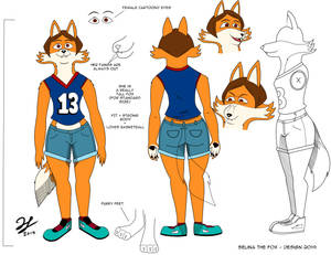 Selina The Fox - Design