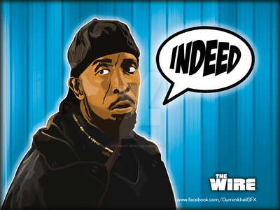 Omar Little From The Wire By
