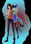 DrawAnime Mascots by ringochan95