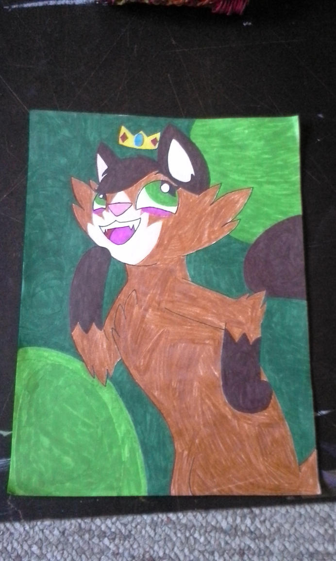 :Art-trade: The Ruler of the Green by waterbase777