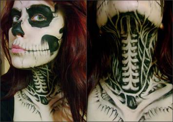 Zombie Girl by uzorpatorica