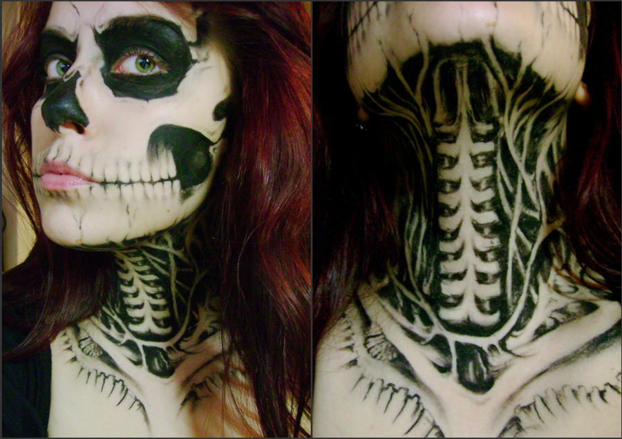 halloween makeup zombie girl - photo #20