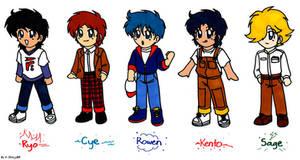 Chibi Ronin Warriors