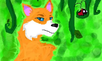 Fox by blazewolf03675