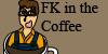 FK in the Coffee Logo by ranasan