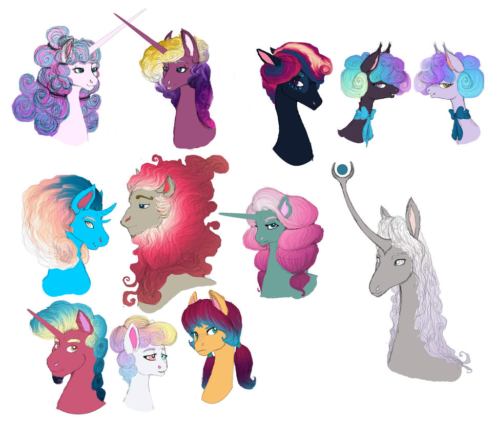 Royal portraits in colour by Celestinavigator