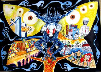 Mothman - The Omen of Doom by Jarol-Tilap