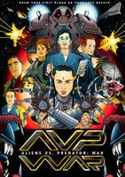 Aliens VS Predator: War cover