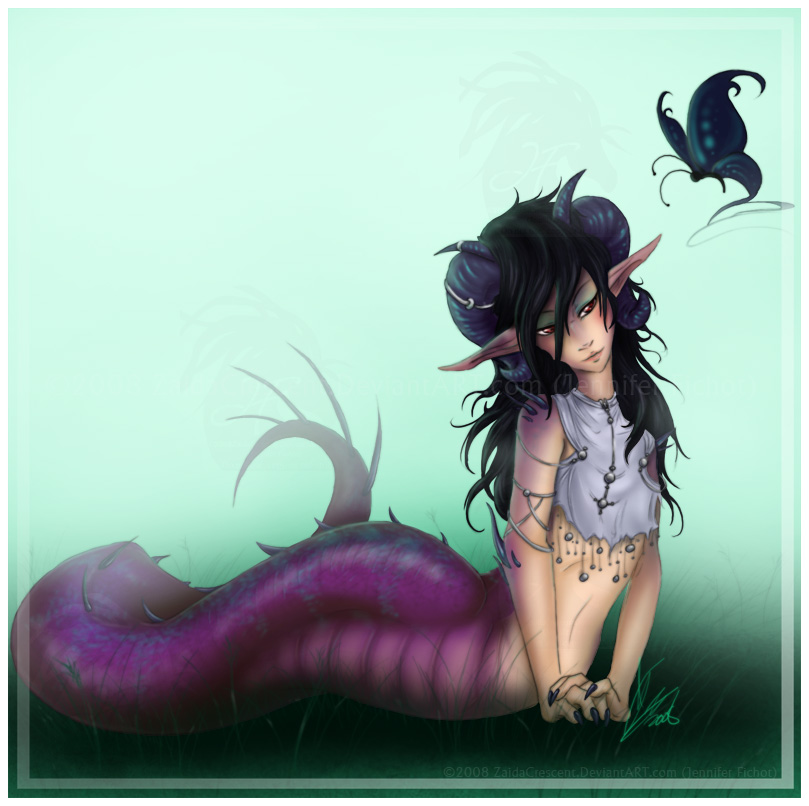:Naga: Statira by ZaidaCrescent