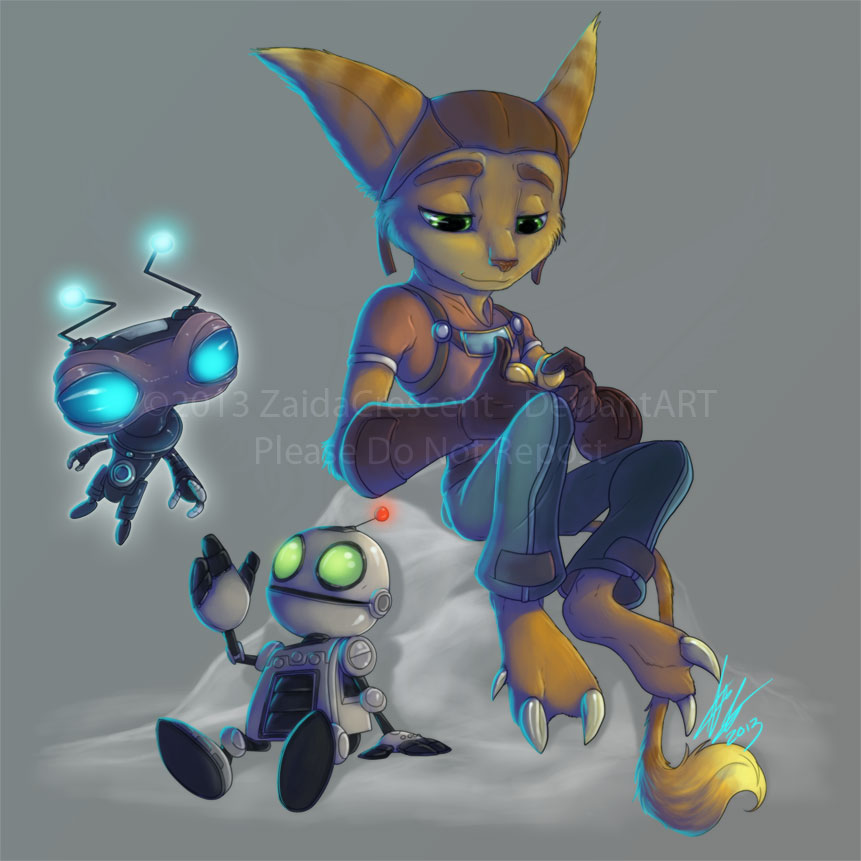 Ratchet and Clank by ZaidaCrescent