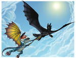HTTYD - Toothless and Stormfly