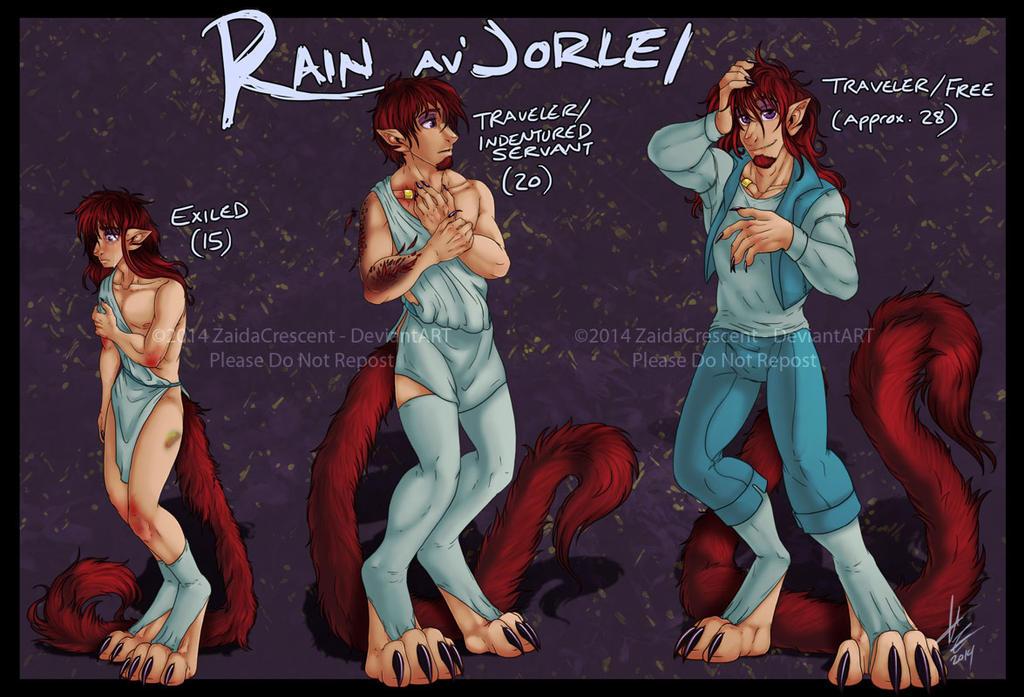 Evolution - Rain by ZaidaCrescent