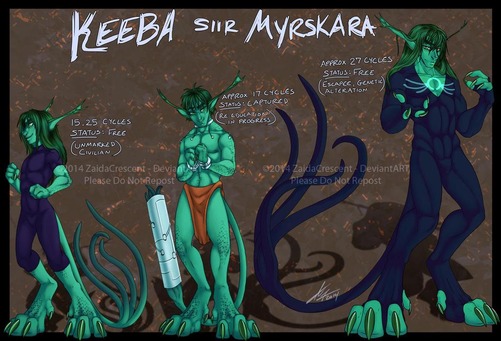 Evolution - Keeba by ZaidaCrescent