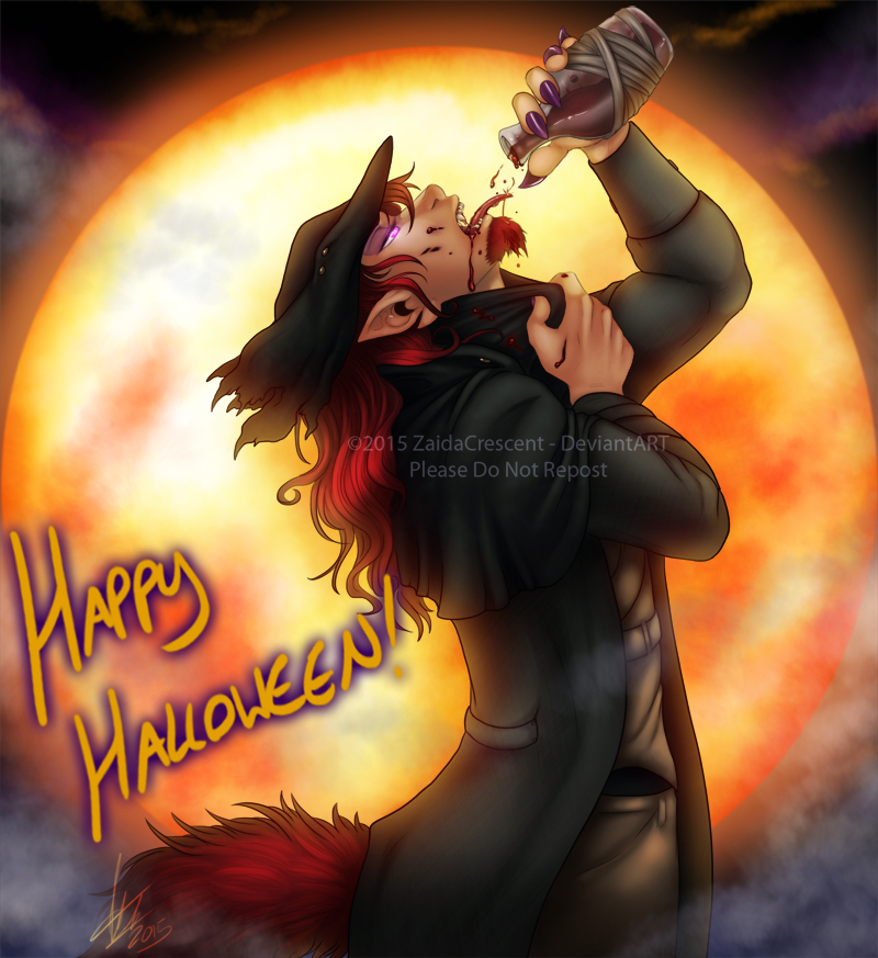 Halloween 2015 - Imbibe by ZaidaCrescent
