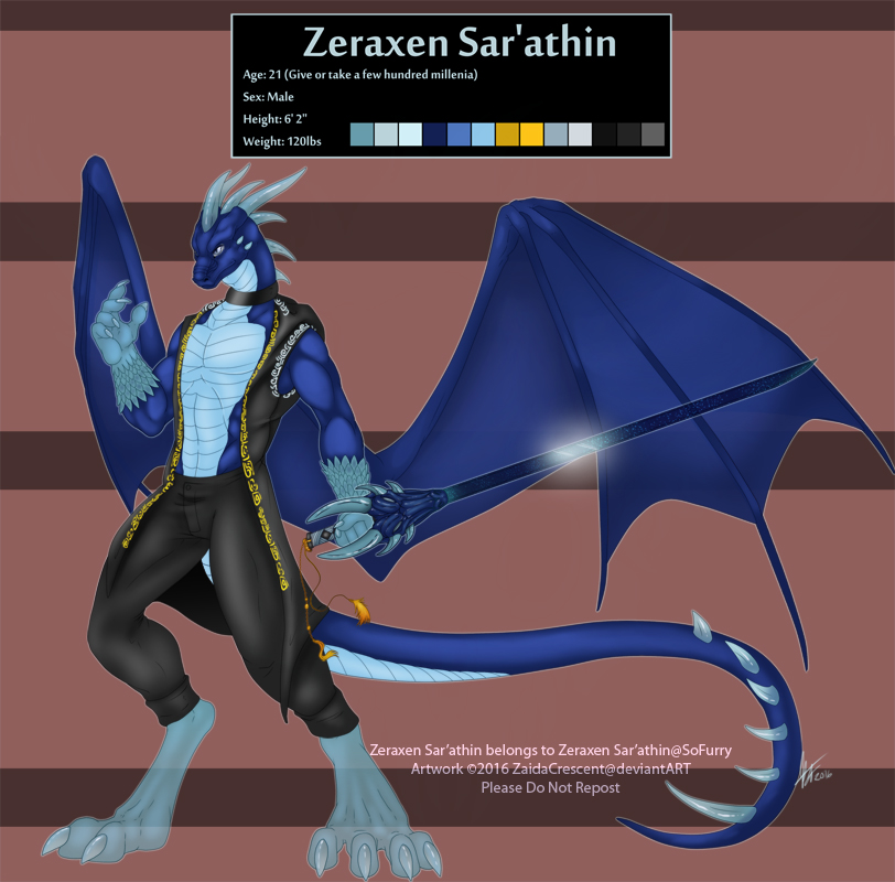 2016 REF - Zeraxen Sar'athin by ZaidaCrescent