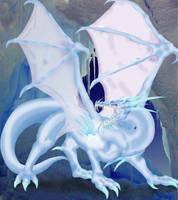 Ice Dragon by ZaidaCrescent