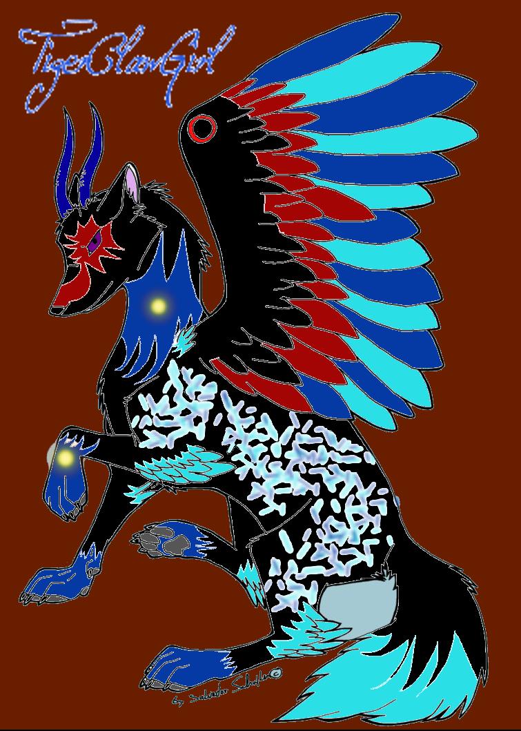 Wolf Demon by TigerClawGirl on DeviantArt - photo#25