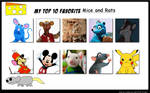 My Top 10 Favorite Mice and Rats
