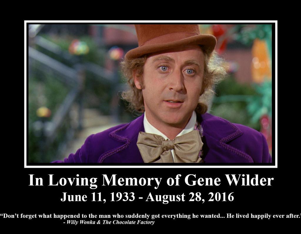In Memory Of Gene Wilder By Ezmanify On DeviantArt