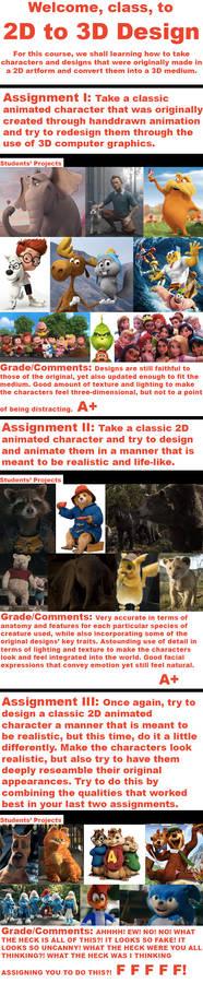 2D to 3D Design Class