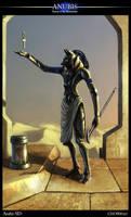 Anubis revized by Asahisuperdry