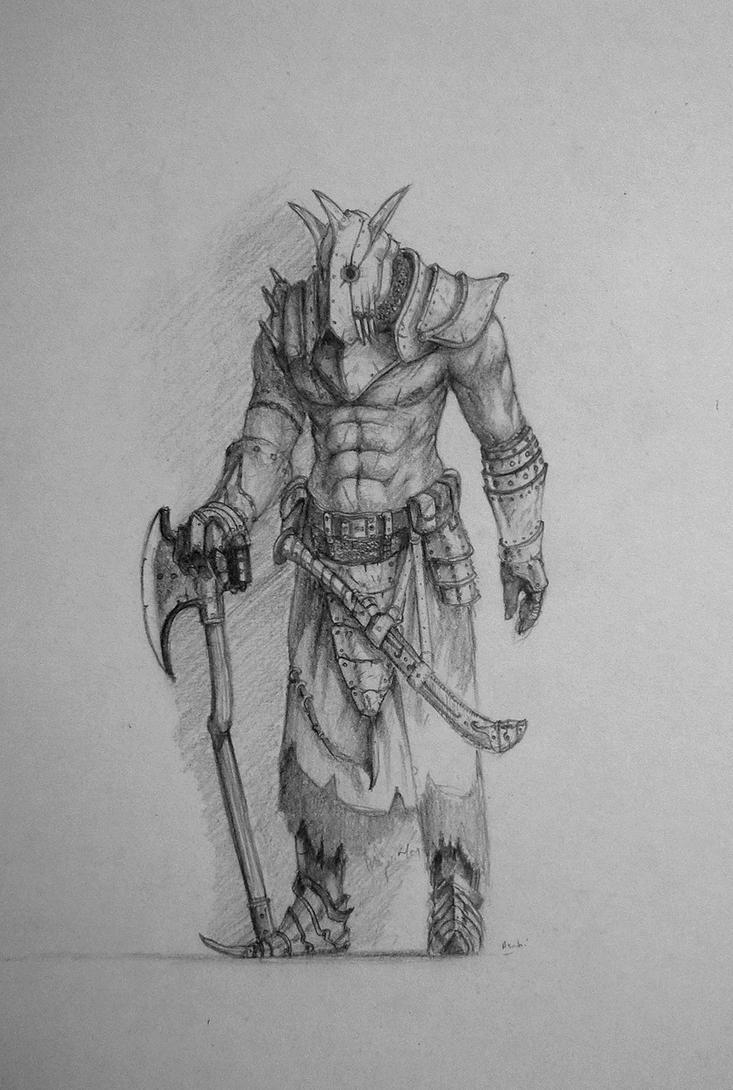 dark dude by Asahisuperdry