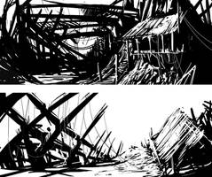 BandW landscape by Asahisuperdry