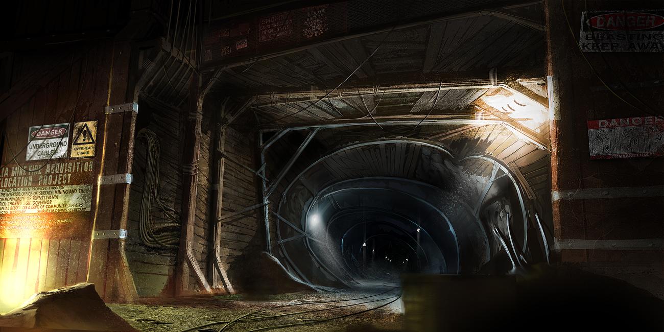 mine shaft wallpaper - photo #6
