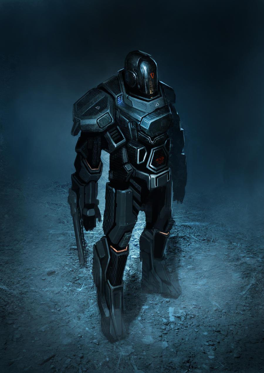 LMS : gabriel heavy armor by Asahisuperdry