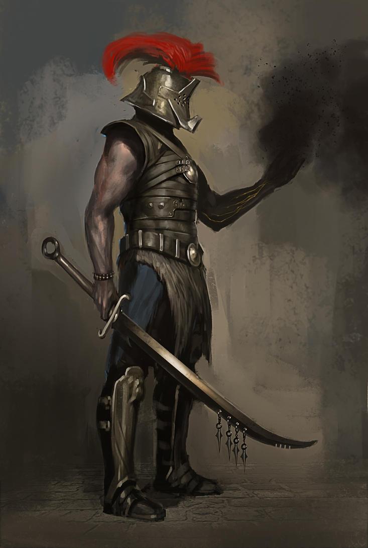 Eädur Descripción general Stained_warrior_by_asahisuperdry-d5vdfcw